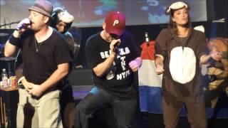 getlinkyoutube.com-Bloodhound Gang - The Bad Touch [HD] live 27 7 2013 Melkweg Amsterdam