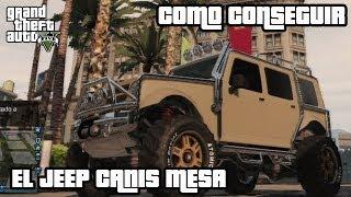 getlinkyoutube.com-GTA 5 - Como conseguir el JEEP CANIS MESA (MerryWeather)