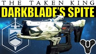 getlinkyoutube.com-Destiny: Darkblade's Spite | INSANE IMPACT! | Strike-Exclusive Fusion Rifle | The Taken King