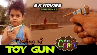 Making of TOY GUN   Easy Toy making