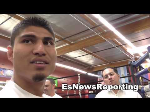 mikey garcia on juanma lopez and salido calling him out EsNews Boxing