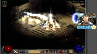 Diablo 2 Lord of Destruction - Paladin Walkthrough - Act 2.13 - The Tomb and Duriel