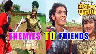 getlinkyoutube.com-Maharana Pratap: OMG! Pratap and Akbar talks about journey from ENEMIES to FRIENDS | MUST WATCH!!