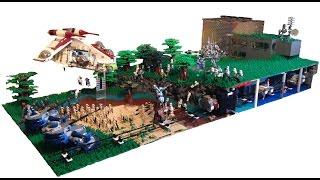getlinkyoutube.com-HUGE Lego Star Wars Underground Clone Base on Concordia