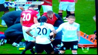 getlinkyoutube.com-Wayne Rooney's nasty gash