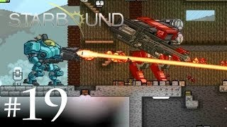 Starbound Co-op (Part 19 - XS Corporation Mechs)