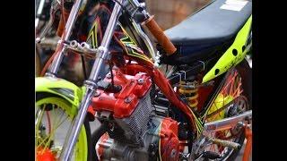 getlinkyoutube.com-WOW !!! Satria fu std 155 cc UJM SALAXspeed joki Eko kodok & Dicky Ucil  Drag Bike Purworejo 2016