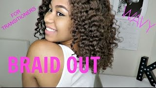 getlinkyoutube.com-Easy Braid Out on Natural Hair | For Transitioners