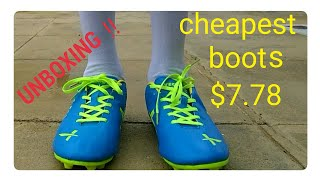 Unboxing football boots rs.535 from Amazon