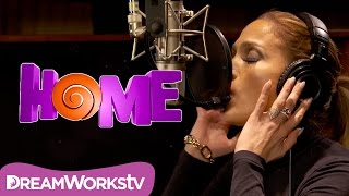 getlinkyoutube.com-Jennifer Lopez - Feel The Light (Official Lyric Video) | HOME