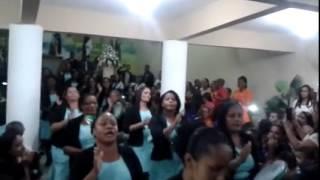 getlinkyoutube.com-Grupo de pandeiro guerreiras de cristo - Madureira (muralha de jerico)