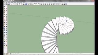 getlinkyoutube.com-Google SketchUp Pro 8 - Spiral Staircase Tutorial