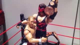 "getlinkyoutube.com-WWE ACTION INSIDER: Kane RSC exclusive figure review Mattel Elite ""Grim's Toy Show"""