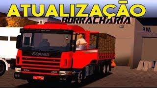 getlinkyoutube.com-Novidades da Atualização Heavy Truck Simulator - (Cidade Nova + Skins das Rodas)