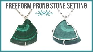Freeform Prong Stone Setting Tutorial - Beaducation.com
