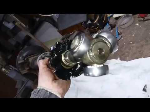 3 Замена пыльника шруса со стороны КПП фиат брава.Часть 3