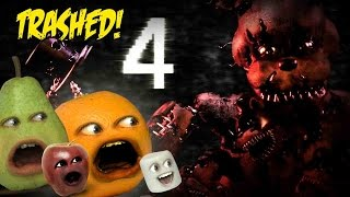getlinkyoutube.com-Annoying Orange - FIVE NIGHTS AT FREDDY'S 4 TRAILER Trashed!!
