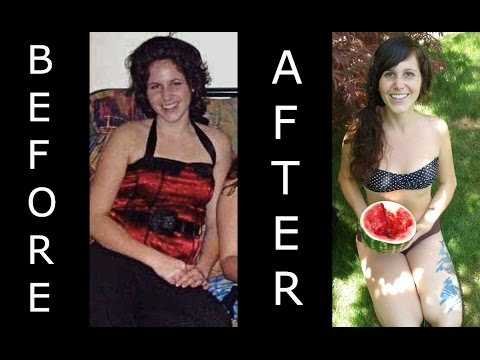 Raw Food Before & After Transformation