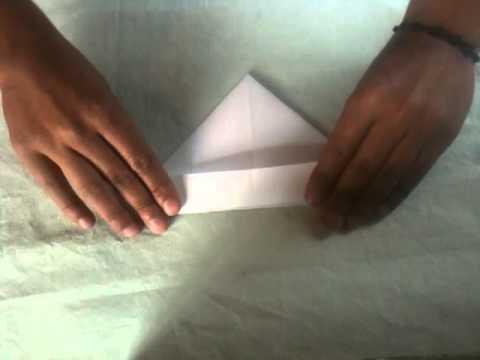 Comecocos de papel - Papiroflexia fácil para niños