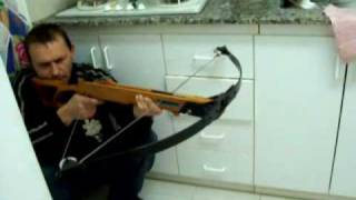 getlinkyoutube.com-my homemade crossbow test .WMV