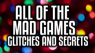 getlinkyoutube.com-All Secrets and Glitches on Mad Games - ROBLOX - Patched??