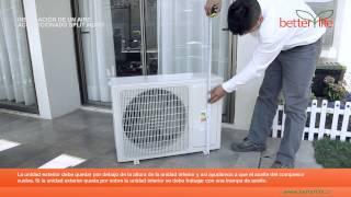 getlinkyoutube.com-Como Instalar un Aire Acondicionado Split Muro