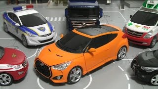 getlinkyoutube.com-헬로카봇 스카이 장난감 Hello Carbot Sky Cars Toys