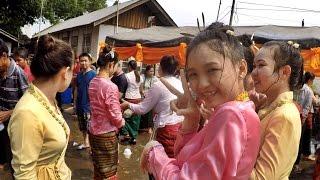 สุดยอดการเปิดงานสงกรานต์แก๋นก๋องเชียงตุง Kengtung Kan Kong Water Festival