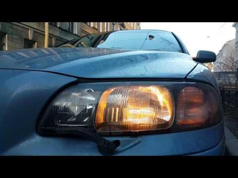 Volvo s60 headlight wipers фар Volvo S60