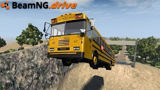 BeamNG.drive - EXTREME BUS DRIVING