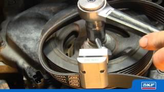 getlinkyoutube.com-SKF - Outil de montage SKF réutilisable pour courroies élastiques  - VKN 300
