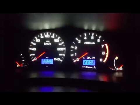 Самодиагностика приборной панели Nissan Primera P11