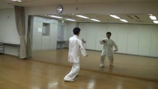 42太極拳【鏡】(右後) 42 Forms Tai Chi Chuan