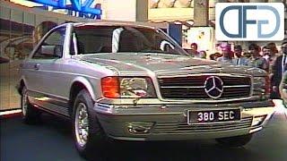 getlinkyoutube.com-IAA 1981 - Mercedes 500 SEC | BMW 735i | Porsche 944 | Toyota Celica Supra GT