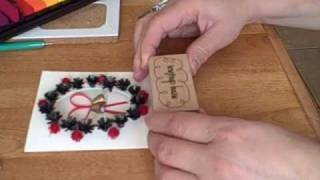 getlinkyoutube.com-Quilling with Yoyomax12: QUILLED BELLS IN A CUT OUT CARD