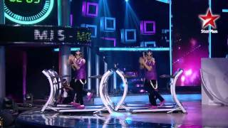 India dancing superstar MJ5 magical performance. .