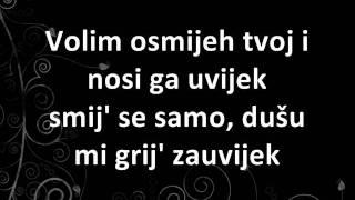 getlinkyoutube.com-Toše Proeski - Volim osmijeh tvoj + Lyrics