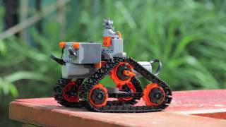 getlinkyoutube.com-LEGO Technic Small Tank Chassis w/PF