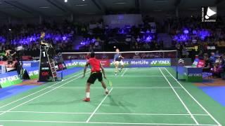 getlinkyoutube.com-Chen Long vs Viktor Axelsen [Denmark Open 2014]