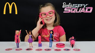getlinkyoutube.com-BARBIE SPY SQUAD McDonald's Happy Meal Toy Review
