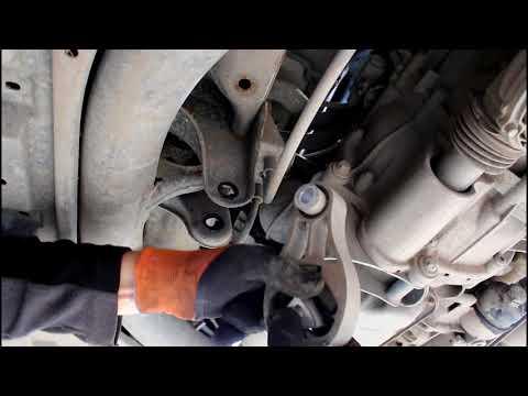 Где опоры двигателя у Смарт Родстер