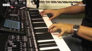getlinkyoutube.com-Intro to Korg PA3X by Mike