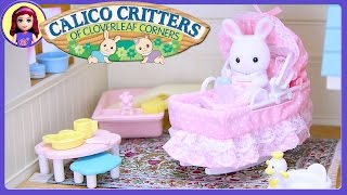 Calico Critters Sophie's Love 'n Care Set Sylvanian Families Review Silly Play Kids Toys