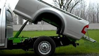 getlinkyoutube.com-Isuzu D-Max ribaltabile kipper tipper bennes volcador