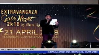 iQ Extravaganza Gala Night 2K18 Ilham Qaseh