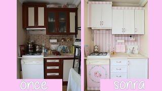 Mutfak Yenileme | Dolap Kaplama | ANNEME SÜRPRİZ