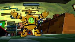 getlinkyoutube.com-Ben 10: Omniverse - Clockwork Transformation and use of his new found power