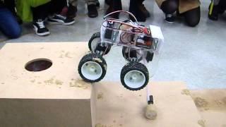 getlinkyoutube.com-2015 美國機械工程師學會 學生救難機器人設計競賽 ─ 秒速五公分