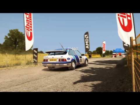 Dirt Rally HAMMERSTEIN Ford Sierra RS   Ралли Германия