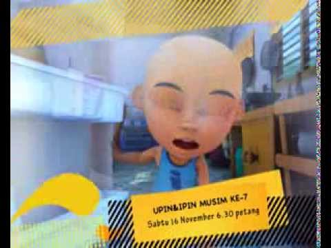 Promo Upin Ipin Musim 7 - Pin Pin Pom [16 Nov 2013, 6.30pm, TV9]